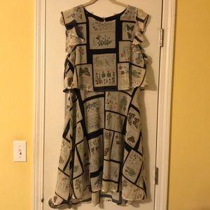 ModCloth Flowy A-Line Dress XL